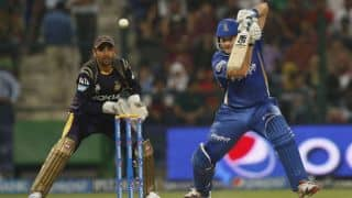 Rajasthan Royals beat Kolkata Knight Riders in thrilling Super Over finale in IPL 2014