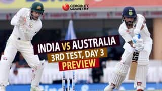 India vs Australia 3rd Test Day 3 Preview: Hosts eye strong reply