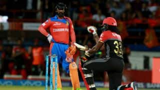 "IPL 2017: Watch Chris Gayle do ""Salt Bae"" celebration after reaching to fifty against Gujarat Lions"