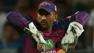IPL 2017: MS Dhoni reprimanded for breaching IPL Code of Conduct during Match 2 between Rising Pune Supergiant and Mumbai Indians