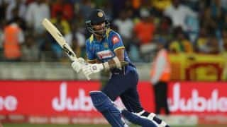 Injury cloud over Dinesh Chandimal's Asia Cup participation
