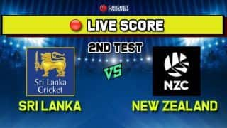 Live: Sri Lanka vs New Zealand 2nd Test, Day 1 - Sri Lanka 71/1 at tea; Karunaratne, Mendis steady innings after early blow