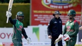 Tri-nation series: Stirling, Porterfield's efforts go in vain as Bangladesh beat Ireland by six wickets