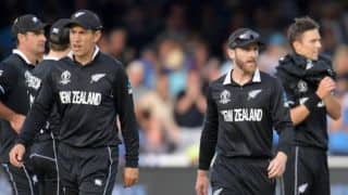 ICC world cup 2019: Black Caps home coming ceremony postponed