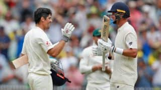 Cook, Broad quash criticisms; England lead Australia by 164