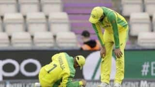 Cricket World Cup 2019: Australia dealt with injury scare, Usman Khawaja gets hit on left knee