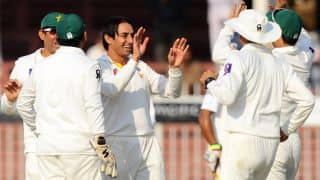 Sri Lanka crawl to 220/5 on Day 1 of 3rd Test against Pakistan