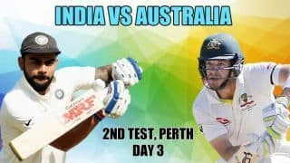 India vs Australia, 2nd Test, Day 3 Live Cricket Score and Updates: Virat Kohli-Ajinkya Rahane partnership key for India