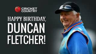 Happy Birthday Fletcher: Former India coach turns 68