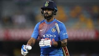 We started well with the bat, but fumbled in the middle overs: Virat Kohli