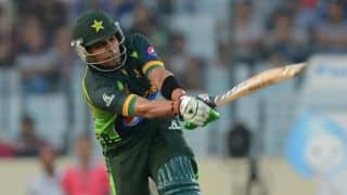 Live Cricket Score: Pakistan vs South Africa ICC World T20 2014 warm-up match at Fatullah