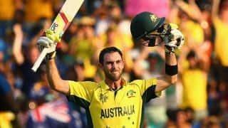 कप्तान एरोन फिंच को यकीन- जल्द वापसी करेंगे 3D क्रिकेटर मैक्सवेल