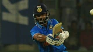 India vs New Zealand 3rd ODI: Ajinkya Rahane dismissed for 5 by Matt Henry