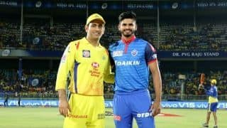 IPL 2019, Qualifier 2 CSK vs DC: MS Dhoni wins toss, Chennai Super Kings elect to bowl against Delhi Capitals