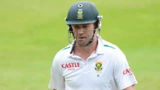De Villiers set for FC return against Warriors in Sunfoil series