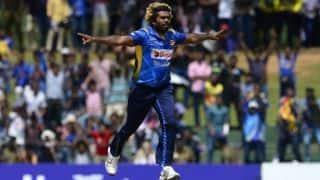 2nd ODI: Morgan leads England to competitive total, Malinga takes five