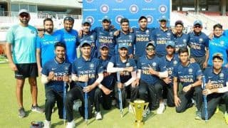 India 'B' beat India 'A' to win Under-19 Quadrangular title