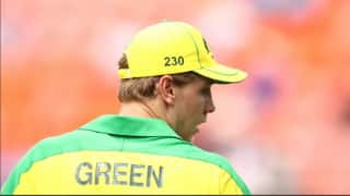Never faced such bowlers: Cameron Green spoke on India's spin attack