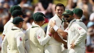 AUS 57/1 | Live Cricket Score, New Zealand vs Australia 2015-16: 2nd Test at Christchurch: Australia trail by 313 runs on Day 1 at stumps!