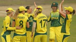 Australia restrict England to 105/8 in Women's World T20 2014 final