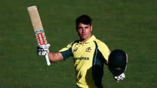Marcus Stoinis' heroics in vain as New Zealand clinch narrow win over Australia in 1st ODI at Auckland