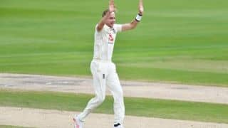 HIGHLIGHTS 3rd Test, Day 3: Broad Double Jolts WI in 399 Chase; England in Command at STUMPS