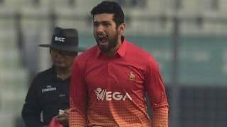 Sikandar Raza left out of T20 tri-series on disciplinary grounds