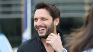 Shahid Afridi greets India on Independence Day, hopes for resumption of bilateral cricket ties