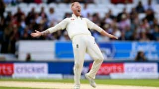 Stokes' 6-for floors West Indies for 123, but England stutter at 46 for 4