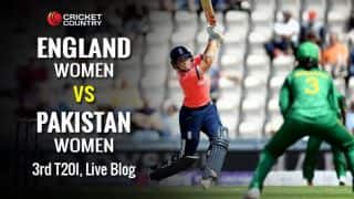 PAKW 113/7 | Live Cricket Score, Pakistan Women vs England Women 2016, 3rd T20I at Chelmsford:  ENGW win by 57 runs, complete series whitewash