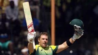 Finch rapidly emerging as Australia's key batsman