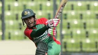 Bangladesh end at 256/8 against Zimbabwe