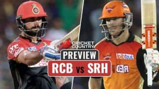 Royal Challengers Bangalore vs Sunrisers Hyderabad, IPL 2017, match 29 preview: RCB eye comeback after embarrassing debacle