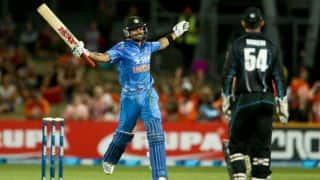 India vs New Zealand, 1st ODI at Napier