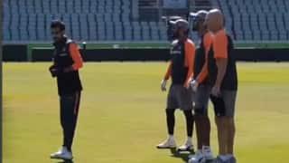 Video: टी20 सीरीज से पहले खिलाड़ियों ने किया जमकर अभ्यास