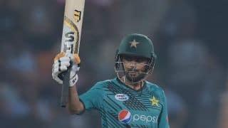 Babar Azam, Shoaib Malik propel Pakistan to 197-5 in 1st T20I vs World XI