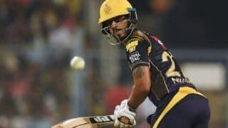 IPL 2018: KKR's Nitish Rana skips training session due to back spasm