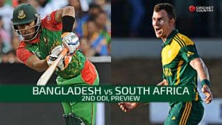 Bangladesh vs South Africa 2015, 2nd ODI at Dhaka Preview: Hosts aim to level series