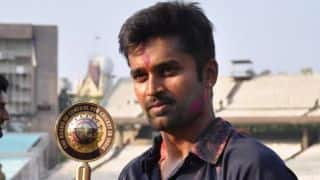 R Vinay Kumar thanks BCCI and fans