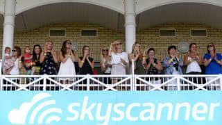 Ashes 2015: WAGS and family celebrate England's win over Australia at Trent Bridge