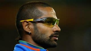 Shikhar Dhawan pushes his fan who wants a selfie: Watch Video