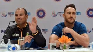 South Africa crumbled under pressure exerted by India, admits coach Russell Domingo