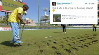 Jayawardene takes sarcastic dig at rain-interrupated games