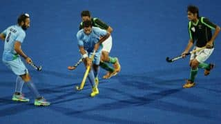 Two Pakistan players get one match ban for their celebrations after India match in Champions Trophy 2014
