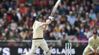 स्टीव स्मिथ ने किया साथी खिलाड़ियों का बचाव, कहा- परिस्थितियां बल्लेबाजी के लिए अच्छी नहीं