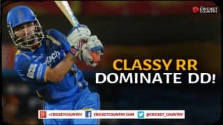 Ajinkya Rahane, Karun Nair power Rajasthan Royals to 189/2 in IPL 2015 encounter against Delhi Daredevils