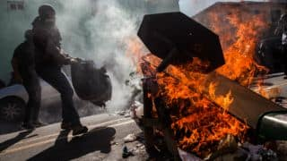 FIFA World Cup 2014: Anti-World Cup demonstration in Sao Paulo ahead of start