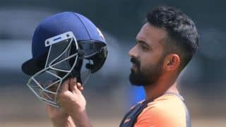 We were hampered by constant stoppage in play: Ajinkya Rahane