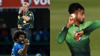 Faheem Ashraf and others with T20I Hat-Trick