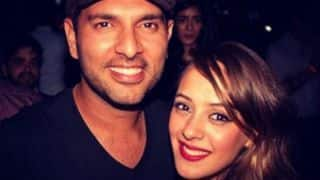 Hazel Keech's emotional message for husband Yuvraj Singh after Cuttack ton